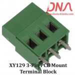 XY129 3 Pin PCB Mount Screwable Terminal Block