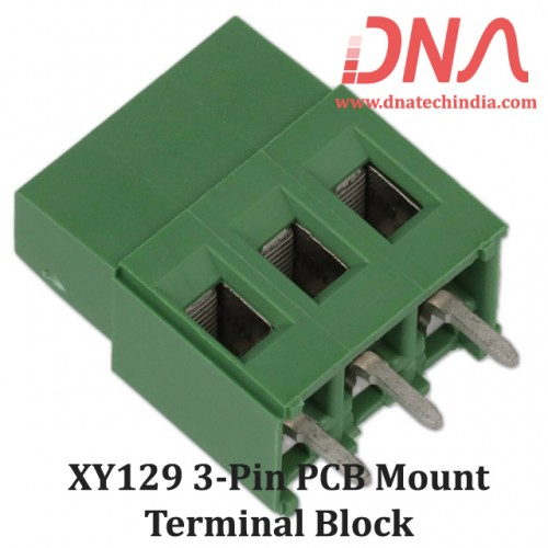 XY129 3 Pin PCB Mount Screwable Terminal Block