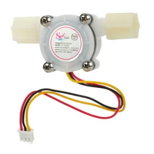 "YF-S402 G1/4"" PVC Water Flow Sensor"