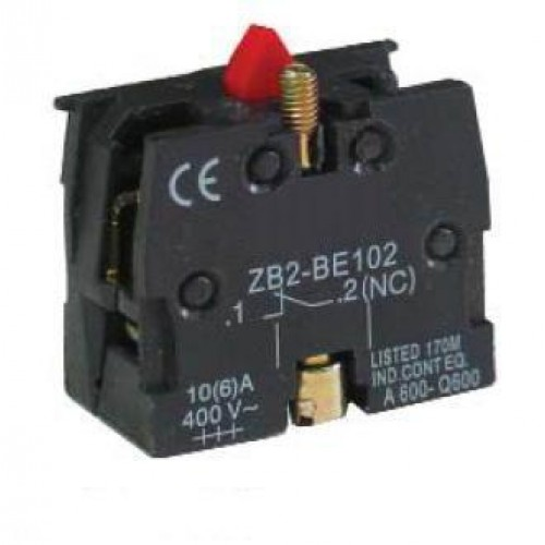 NC Push Button Contact Element