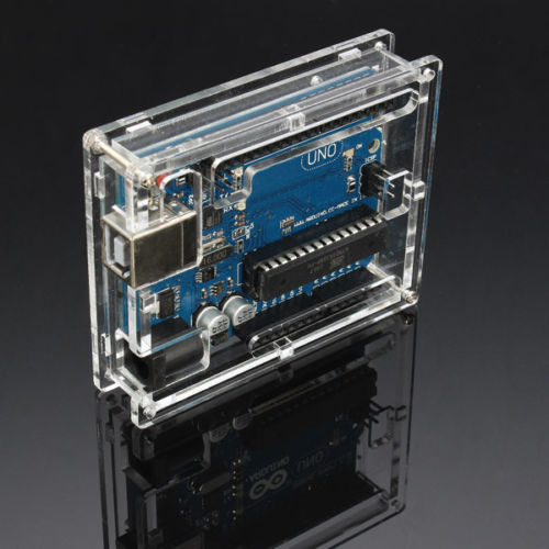 Purchase online arduino uno r acrylic case in india at