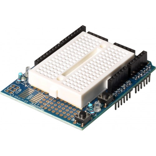 Buy online protoshield for arduino uno with breadboard in