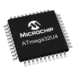 ATmega32U4 Microcontroller