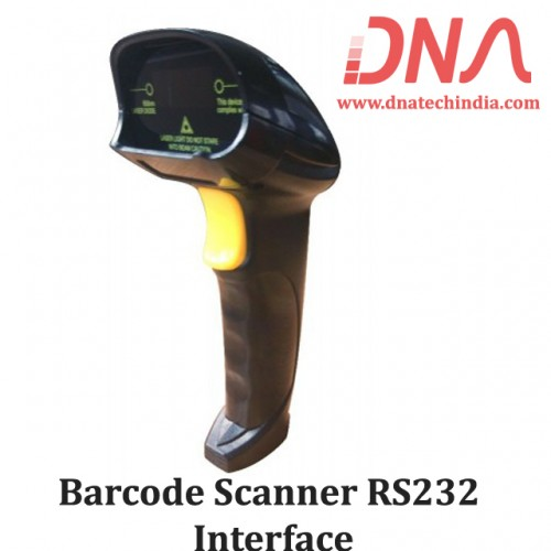 Barcode Scanner RS232 Interface