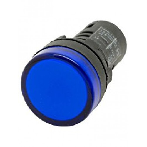 BLUE LED Indicator 230V