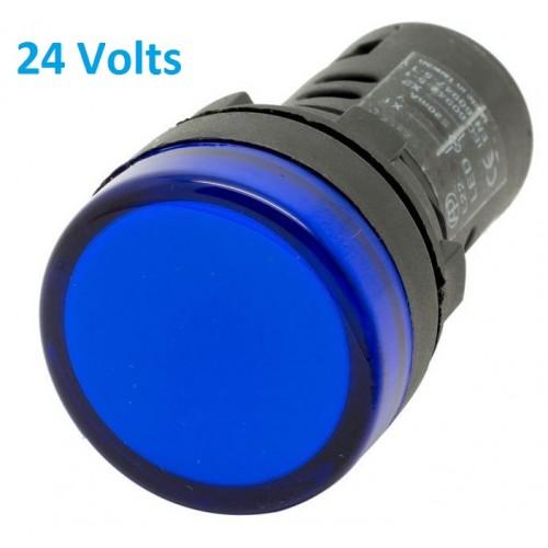 Blue Panel Indicator 24V