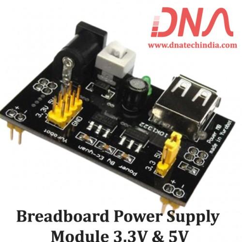 Breadboard Power Supply Module 3.3V & 5V