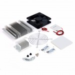 Thermoelectric Peltier Refrigeration Cooling DIY Kit