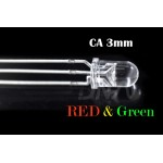Bi-color CA RED Green 3mm LED