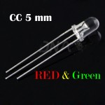 Bi-color CC RED Green 5mm LED