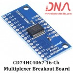 CD74HC4067 16-Channel Multiplexer Breakout Board