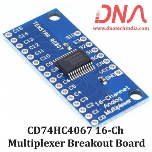 CD74HC4067 16-Channel Multiplexer Breakout Board