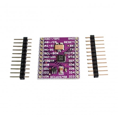 CJMCU-750 SC16IS750 Single UART with I2C-bus/SPI interface