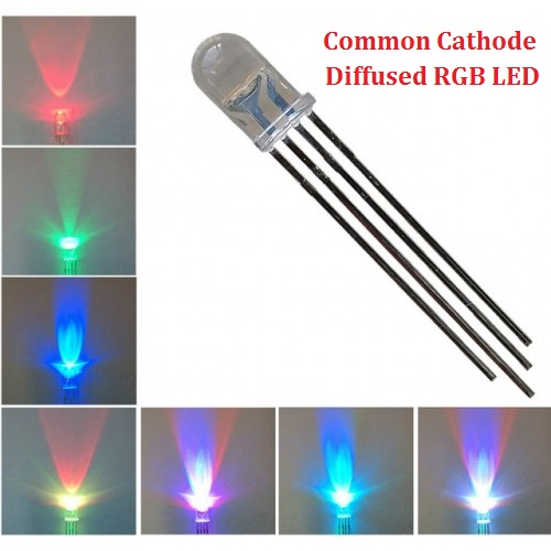 4 Pin CC RGB LED