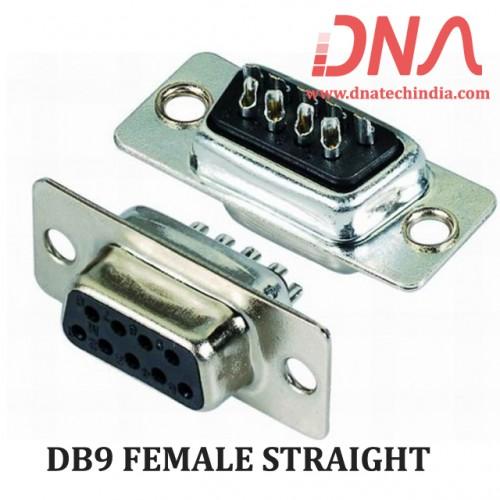 DB9 FEMALE STRAIGHT