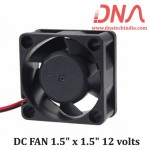 "DC FAN 1.5"" x 1.5"" 12 volts"