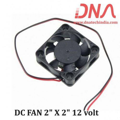 "DC FAN 2"" X 2"" 12 volt"