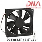 """DC Fan 3.5"""" x 3.5"""" 12V"""