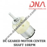 DC GEARED MOTOR CENTER SHAFT 10RPM