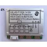 4S Li-Ion BMS 14.8 Volt 100 Amp HX-4S-F100A Module