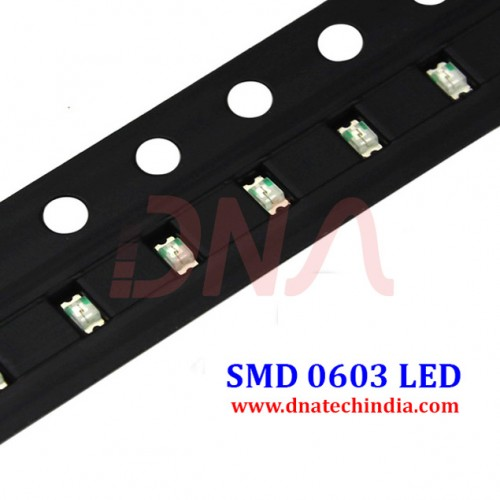 0603 SMD White LED (PACK of 10)