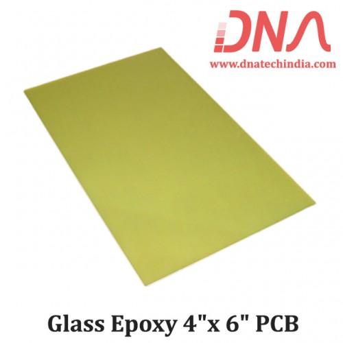 "Glass Epoxy 4""x 6"" PCB"