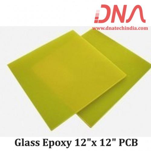 "Glass Epoxy 12""x 12"" PCB"