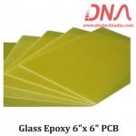 "Glass Epoxy 6""x 6"" PCB"