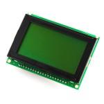 JHD12864 128X64 Green GLCD Display