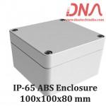 ABS 100x100x80 mm IP65 Enclosure