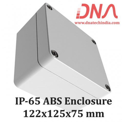 ABS 122x125x75 mm IP65 Enclosure