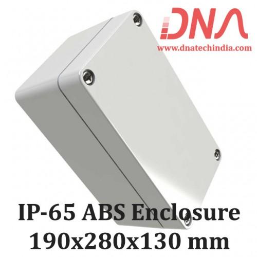ABS 190x280x130 mm IP65 Enclosure