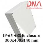 ABS 300x400x140 mm IP65 Enclosure