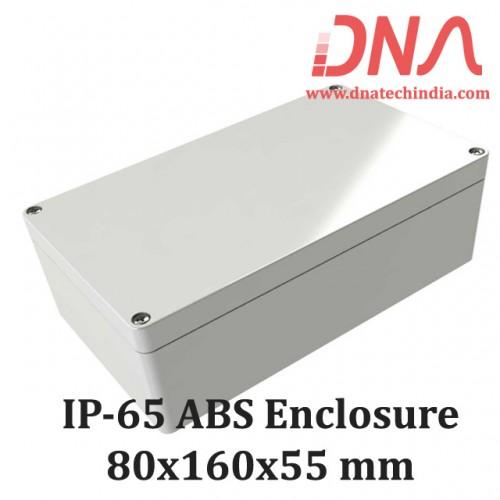 ABS 80x160x55 mm IP65 Enclosure