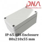 ABS 80x210x55 mm IP65 Enclosure