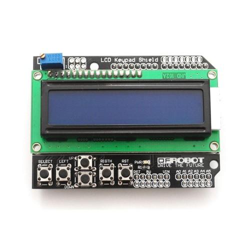 Buy online alphanumeric lcd keypad shield for arduino from