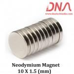 Neodymium Magnet 10 X 1.5 (mm)