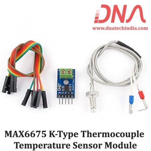 MAX6675 K-Type Thermocouple Temperature Sensor Module