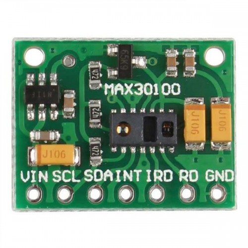 MAX30100 Pulse Oximeter and Heart Beat Sensor