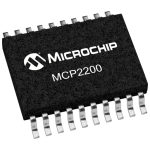 MCP2200 USB 2.0 to UART Protocol Converter with GPIO