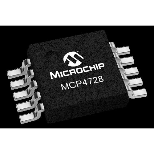 MCP4728 Digital to Analog Convertor SMD