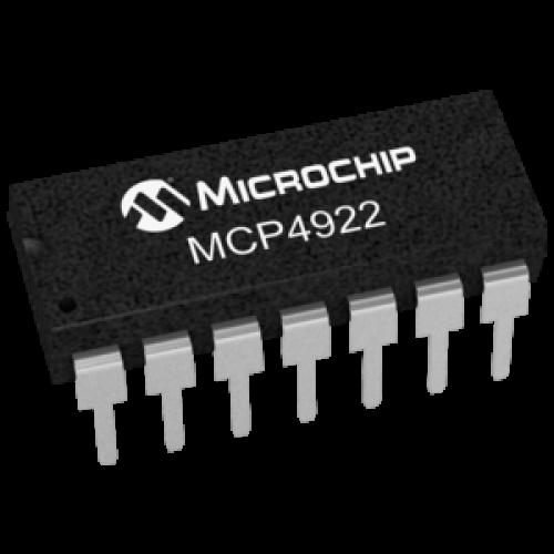 MCP4922 12Bit DAC
