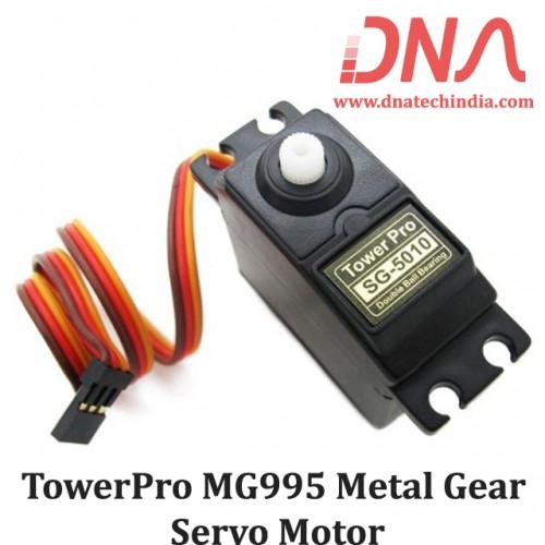 TowerPro MG995 Metal Gear Servo Motor (180º Rotation)-Standard Quality