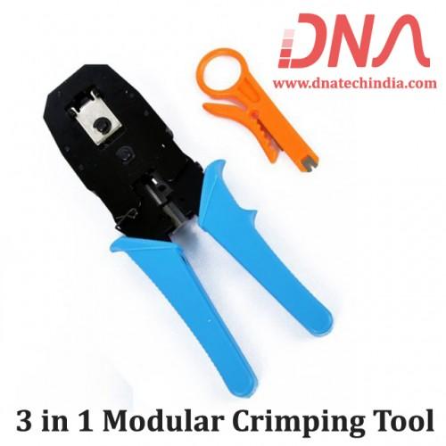 3 in 1 Modular Crimping Tool
