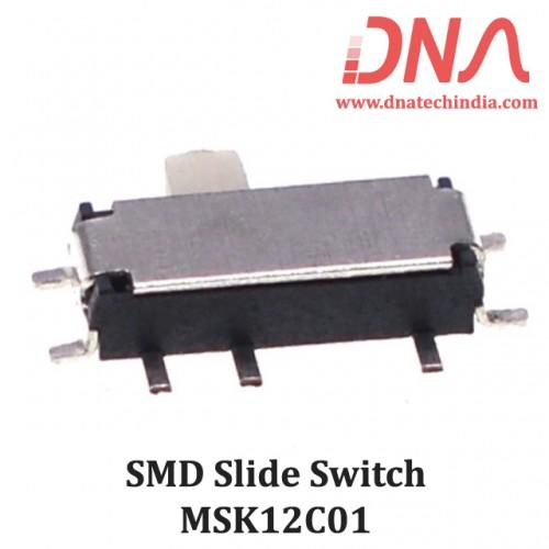 SMD Slide Switch 1P2T MSK12C01