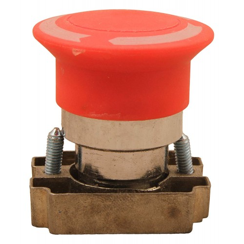 RED Mushroom Push Button Switch
