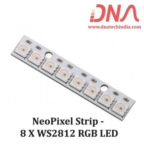 NeoPixel Strip - 8 x WS2812 RGB LED