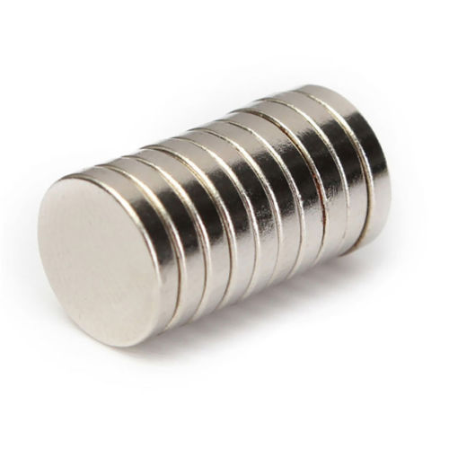 Buy Neodymium Magnet 12mm X 2mm Online In India At Low Cost From Dna Technology Nashik