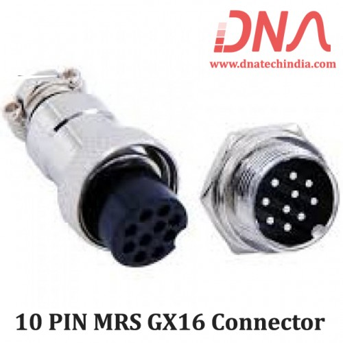 10 PIN MRS GX16 Connector
