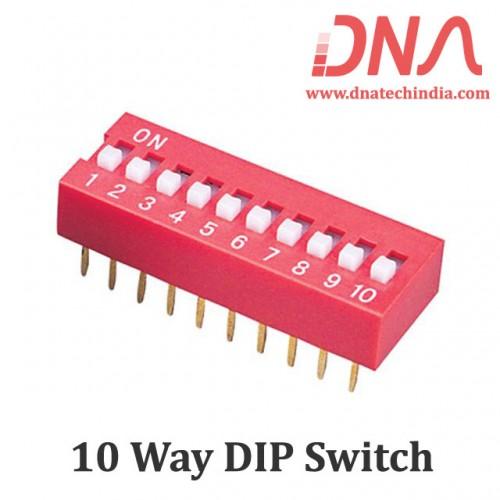 DIP switch 10 Way